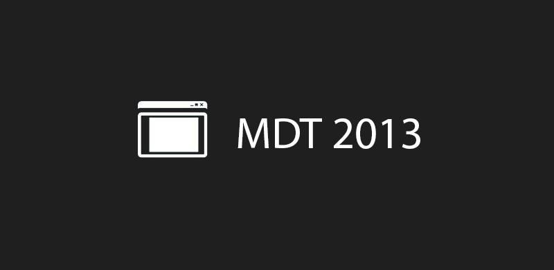 10 raisons d'utiliser MDT pour créer les images de références