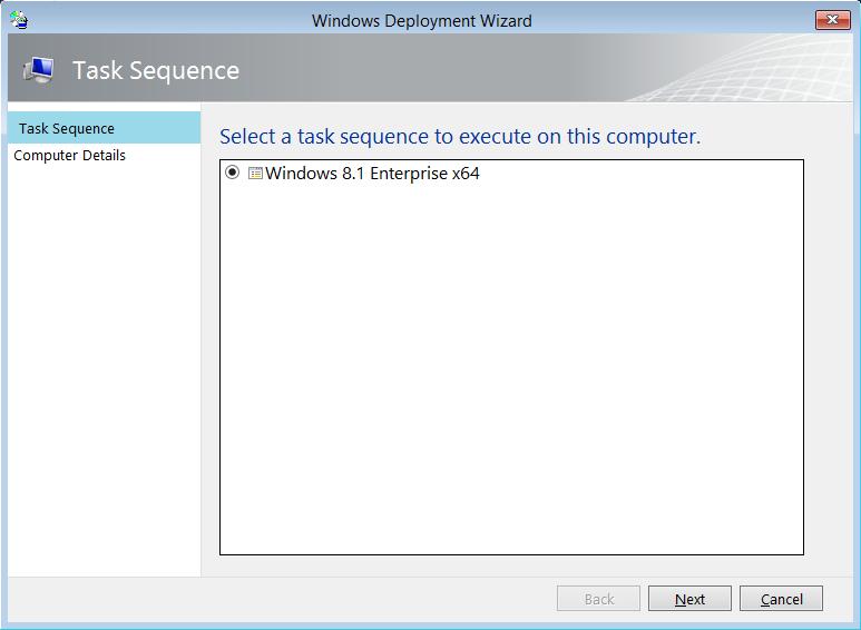 Windows 8.1 installer la taille sur le disque dur