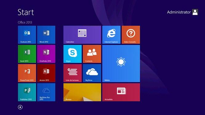 Personnaliser l'écran d'accueil de Windows 8.1 avec les GPO