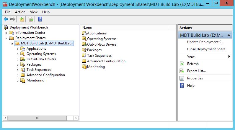 Créer image Windows 10 avec MDT 2013 (1)