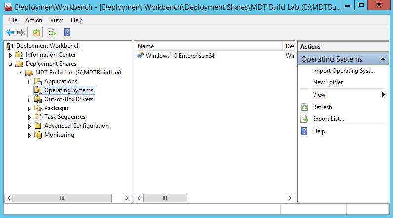 Créer image Windows 10 avec MDT 2013 (2)