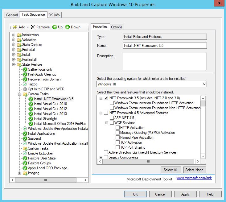Créer image Windows 10 avec MDT 2013 (3)