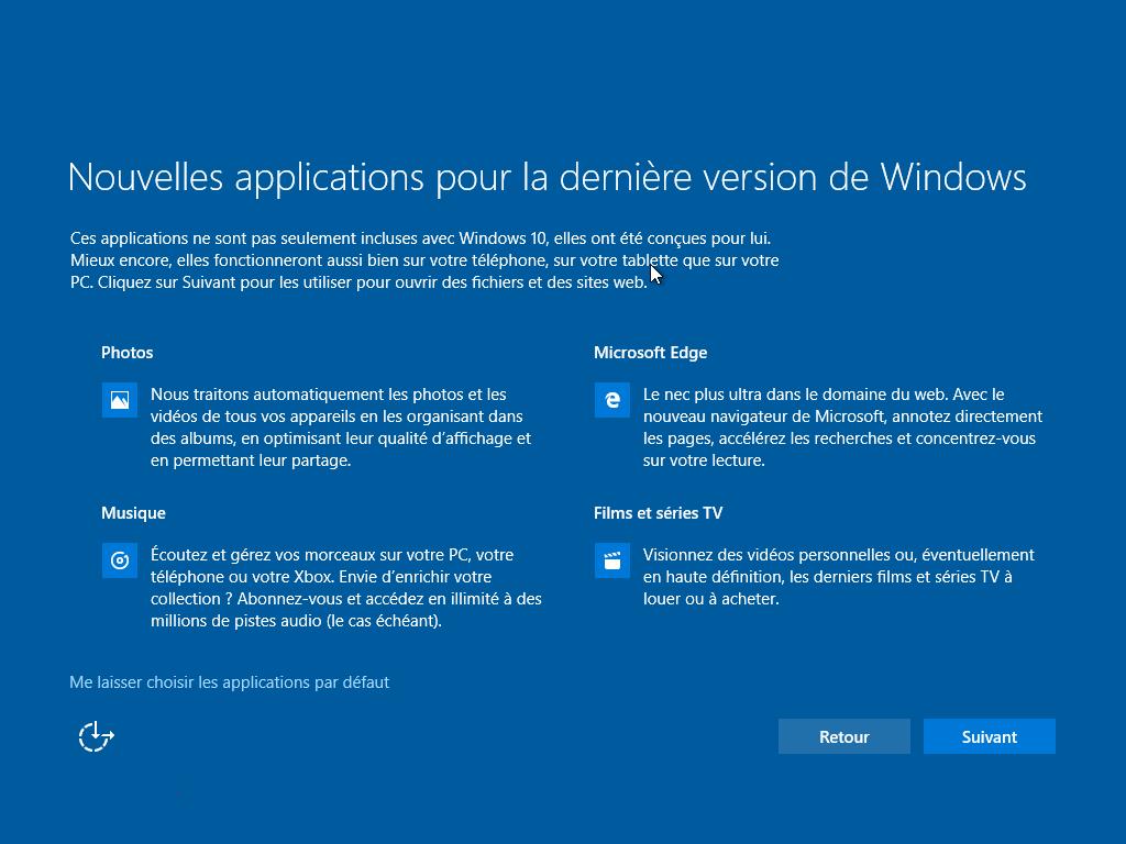 navigateur par défaut dans Windows 10