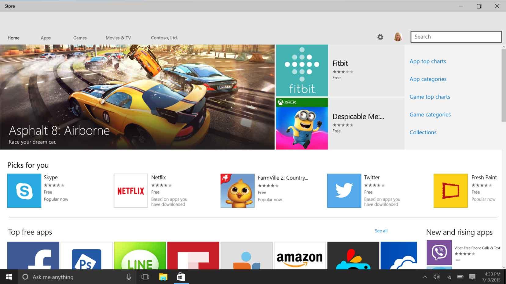 Impossible de télécharger des applications depuis Windows Store sur Windows 10