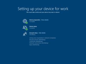 Windows Autopilot User ESP