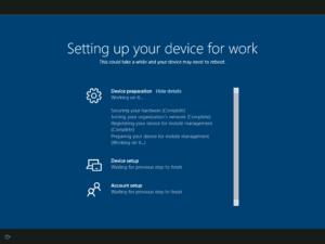 Windows Autopilot Devices ESP